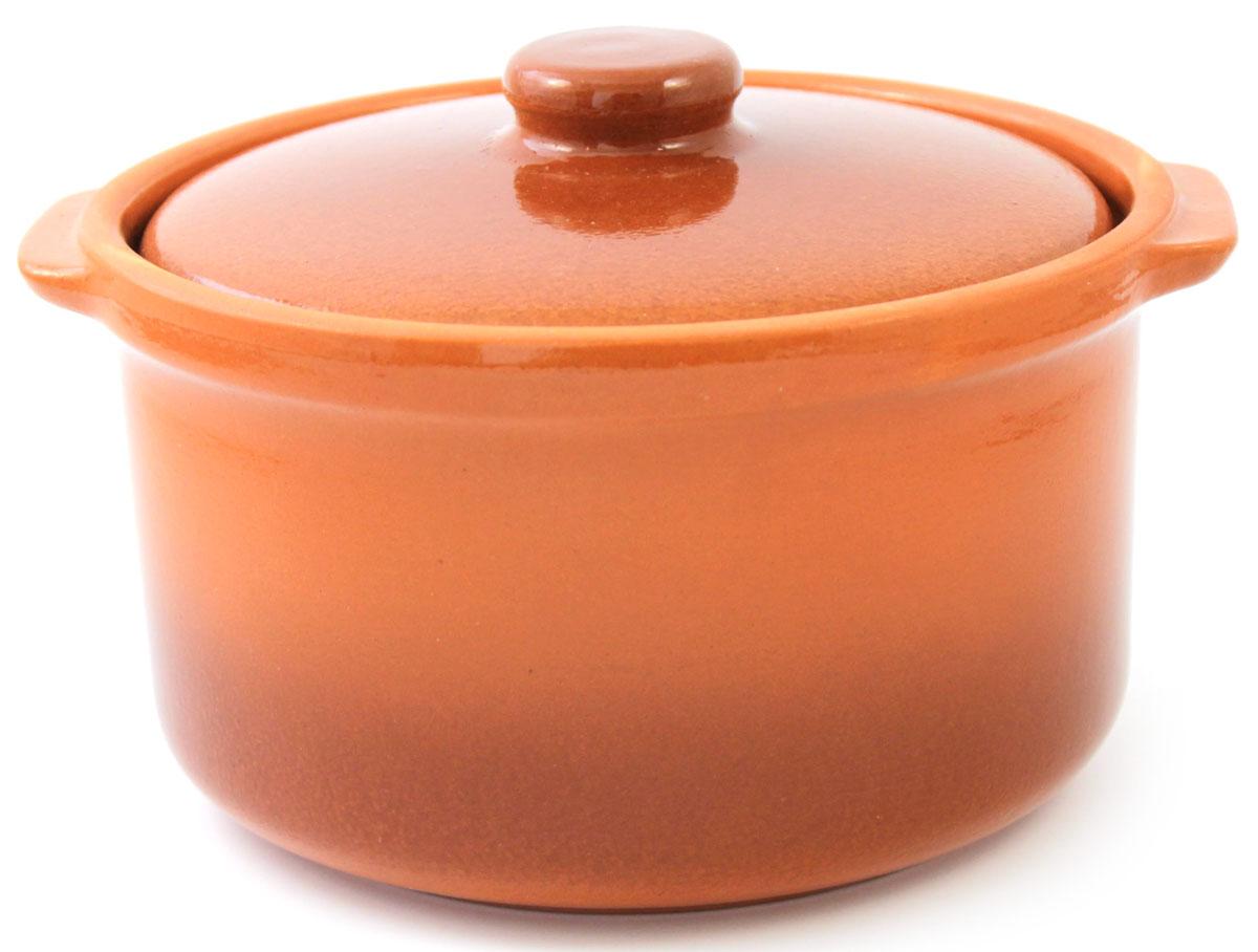 Кастрюля керамическая Ломоносовская керамика с крышкой, цвет: коричневый, 1 л115510Кастрюля Ломоносовская керамика выполнена из высококачественной глины. Покрытие абсолютно безопасно для здоровья, не содержит вредных веществ.Кастрюля оснащена удобными боковыми ручками и керамической крышкой. Она плотно прилегает к краям посуды, сохраняя аромат блюд.