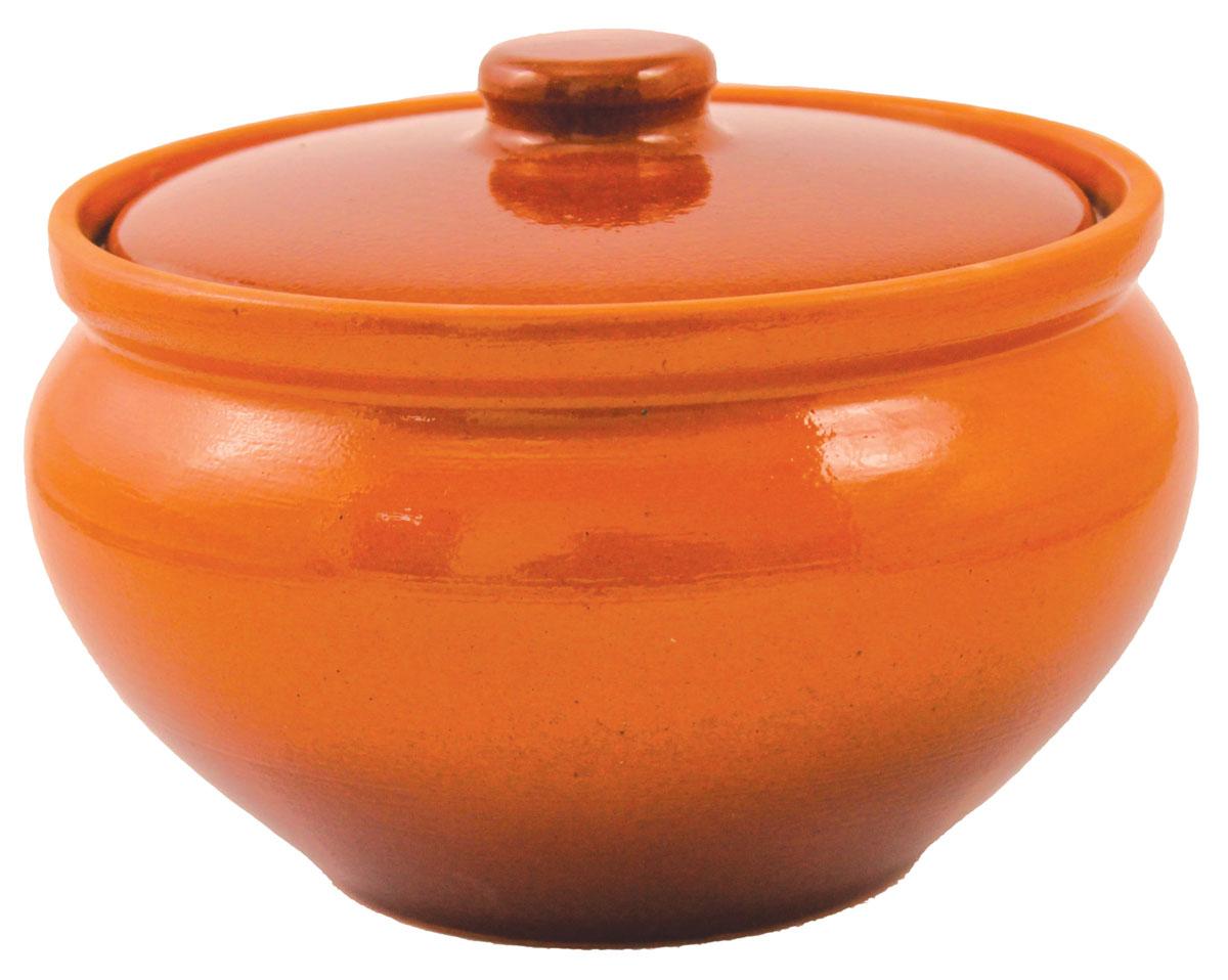 Горшок для запекания Ломоносовская керамика, с крышкой, цвет: коричневый, 1,5 лFS-91909Горшок для запекания Ломоносовская керамика с крышкой выполнен из высококачественной глины. Уникальные свойства глины и толстые стенки изделия обеспечивают эффект русской печи при приготовлении блюд. Блюда, приготовленные в керамическом горшке, получаются нежными исочными. Вы сможете приготовить мясо, сделать томленые овощи и все это без капли масла. Этоодин из самых здоровых способов готовки.