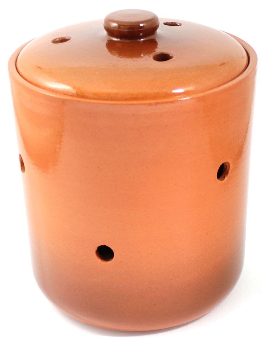 Банка для сыпучих продуктов Ломоносовская керамика, 1,3 лVT-1520(SR)Банка для сыпучих продуктов Ломоносовская керамика, изготовленная из высококачественной глины, станет незаменимым помощником на любой кухне. В ней будет удобно хранить сыпучие продукты, такие, как чай, кофе, соль, сахар, крупы, макароны и многое другое. Емкость плотно закрывается крышкой. Яркий дизайн банки позволит украсить любую кухню, внеся разнообразие как в строгий классический стиль, так и в современный кухонный интерьер.