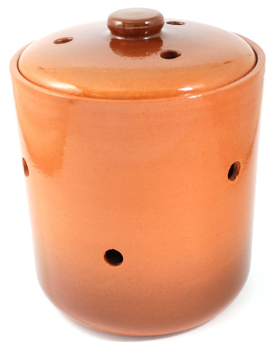 Банка для сыпучих продуктов Ломоносовская керамика, 4,5 лVT-1520(SR)Банка для сыпучих продуктов Ломоносовская керамика, изготовленная из высококачественной глины, станет незаменимым помощником на любой кухне. В ней будет удобно хранить сыпучие продукты, такие, как чай, кофе, соль, сахар, крупы, макароны и многое другое. Емкость плотно закрывается крышкой. Яркий дизайн банки позволит украсить любую кухню, внеся разнообразие как в строгий классический стиль, так и в современный кухонный интерьер.