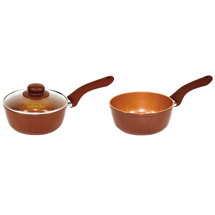 Ковш NaturePan Ceramic без крышки, с керамическим покрытием, 1 л ковш naturepan modern с крышкой с керамическим покрытием 1 4 л