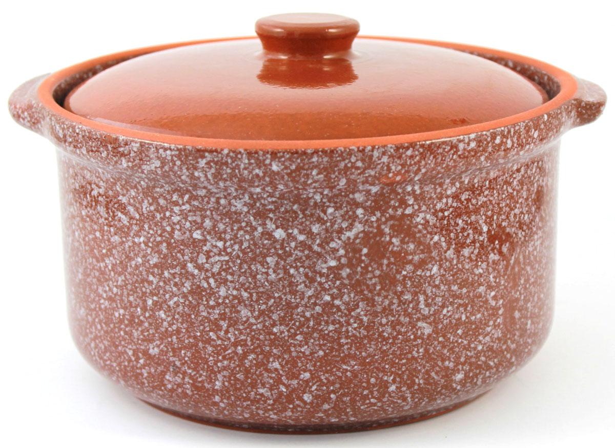 Кастрюля керамическая Ломоносовская керамика с крышкой, цвет: коричневый мрамор, 2 л68/5/4Кастрюля Ломоносовская керамика выполнена из высококачественной глины. Покрытие абсолютно безопасно для здоровья, не содержит вредных веществ.Кастрюля оснащена удобными боковыми ручками и керамической крышкой. Она плотно прилегает к краям посуды, сохраняя аромат блюд.