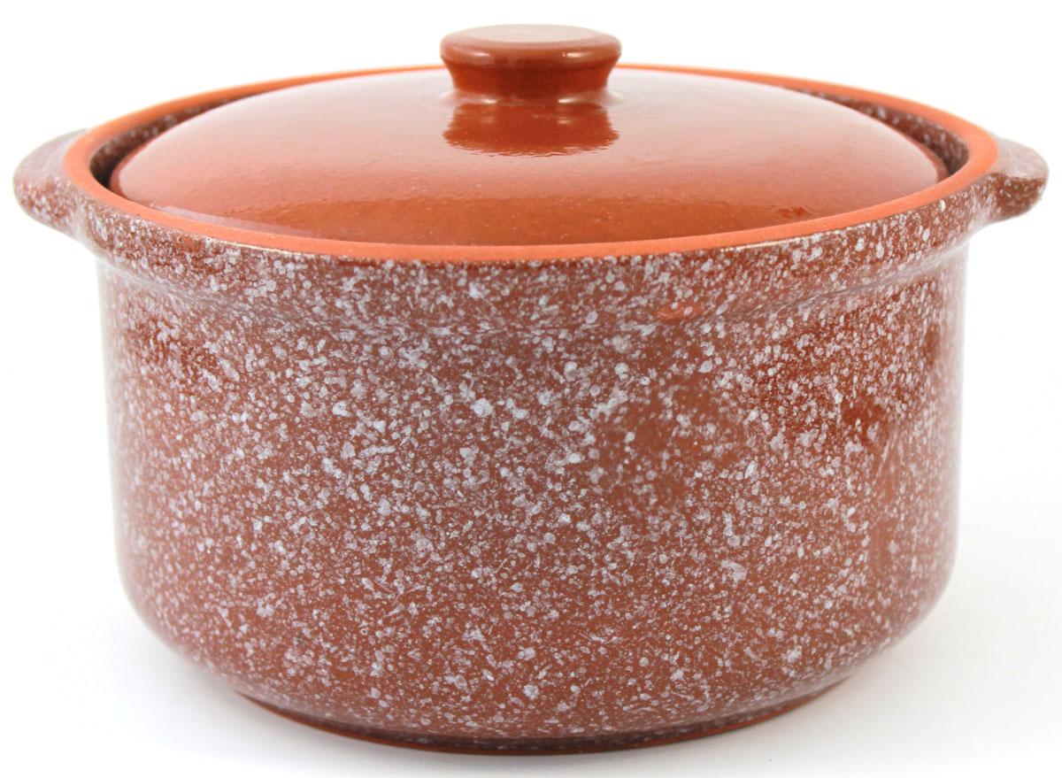 Кастрюля керамическая Ломоносовская керамика с крышкой, цвет: коричневый мрамор, 1 л1ГС3мк-2Кастрюля Ломоносовская керамика выполнена из высококачественной глины. Покрытие абсолютно безопасно для здоровья, не содержит вредных веществ.Кастрюля оснащена удобными боковыми ручками и керамической крышкой. Она плотно прилегает к краям посуды, сохраняя аромат блюд.