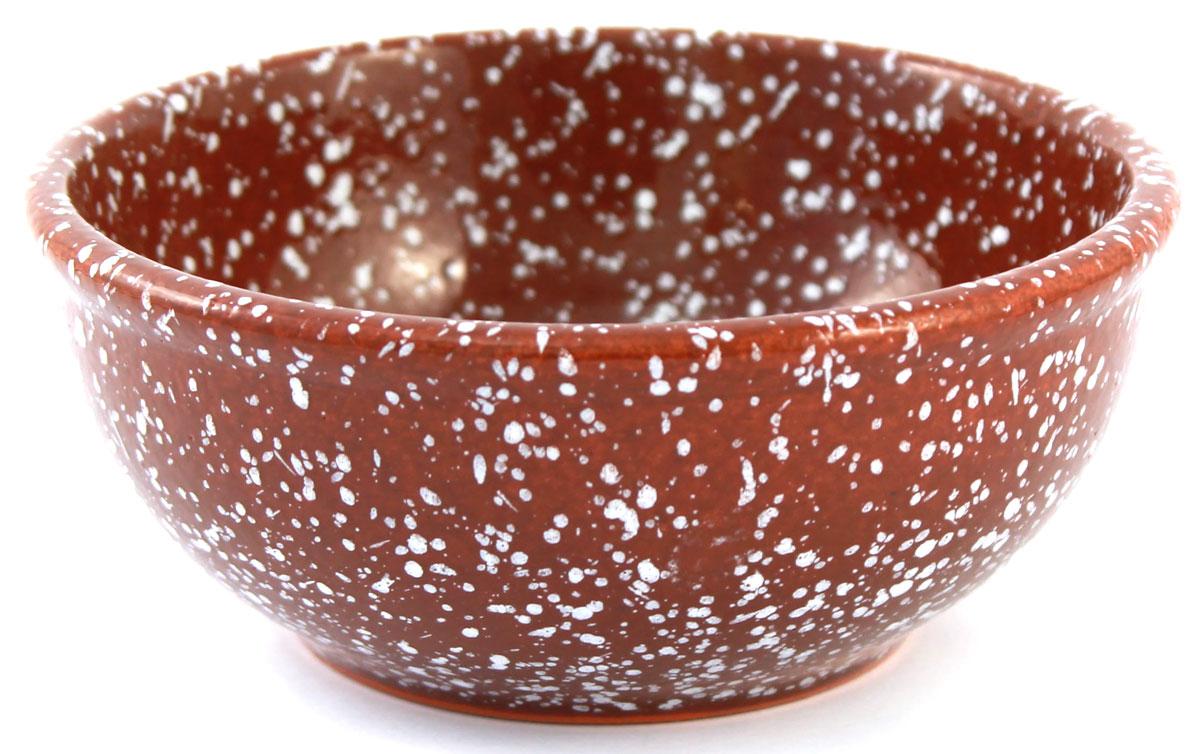 Салатник Ломоносовская керамика Мрамор, цвет: коричневый, 0,3 л, диаметр: 13 см. 1С3мк-421902765Салатник Ломоносовская керамика изготовлен из высококачественной глины с глазурованным покрытием. Такой салатник украсит сервировку вашего стола и подчеркнет прекрасный вкус хозяина, а также станет отличным подарком. Диаметр: 13 см.