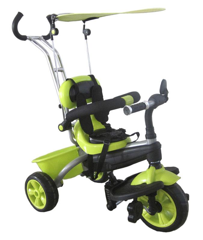 Pitstop Велосипед детский трехколесный цвет светло-зеленый MT-BCL0815005