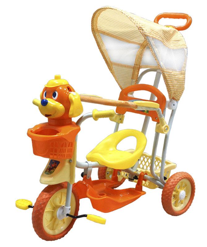 Pitstop Велосипед детский трехколесный цвет оранжевый MT-BCL0815006