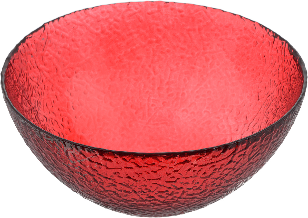 Салатник NiNaGlass Ажур, цвет: рубиновый, диаметр 20 см54 009303Салатник NiNaGlass Ажур выполнен из высококачественного стекла и декорирован рельефным узором. Идеален длясервировки салатов, овощей и фруктов, ягод, вторых блюд,гарниров и многого другого. Он отлично подойдет как для повседневных, так и для торжественных случаев.Такой салатник прекрасно впишется в интерьер вашей кухни истанет достойным дополнением к кухонному инвентарю. Диаметр салатника (по верхнему краю): 20 см. Высота стенки: 9 см.