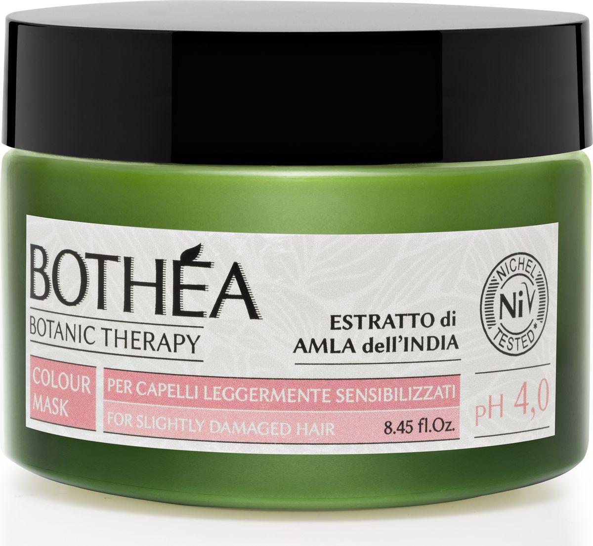 Bothea Маска для сильно поврежденных волос Mask For Very Damaged Hair pH 4.0 - 250 млBT00001Маска для очень чувствительных волос. Кондиционирующее действие по восстановлению влаги, формула закрывает чешуйки волос, обеспечивая превосходное отражение света. Более того, маска мгновенно смягчает кутикулу и облегчает расчесывание волос.