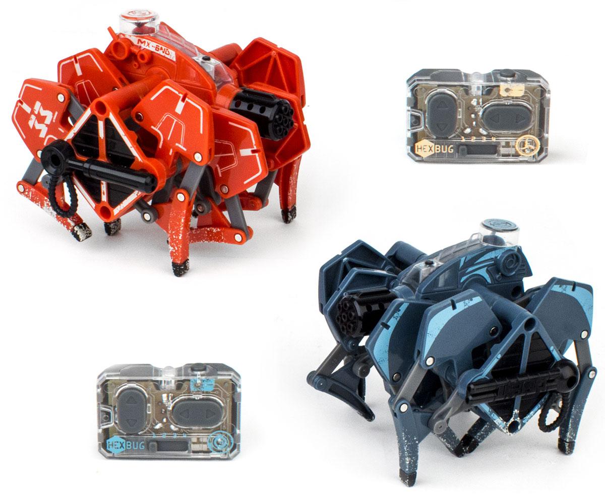 Hexbug Набор микро-роботов Battle Tarantula hexbug игровой набор с микро роботами нано v2 ланчпад neon