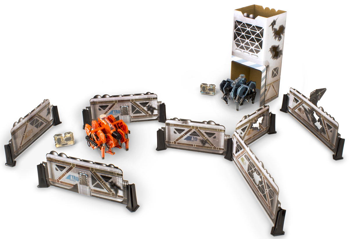 Hexbug Игровой набор Battle Bunker Tarantula hexbug игровой набор с микро роботами нано v2 ланчпад neon
