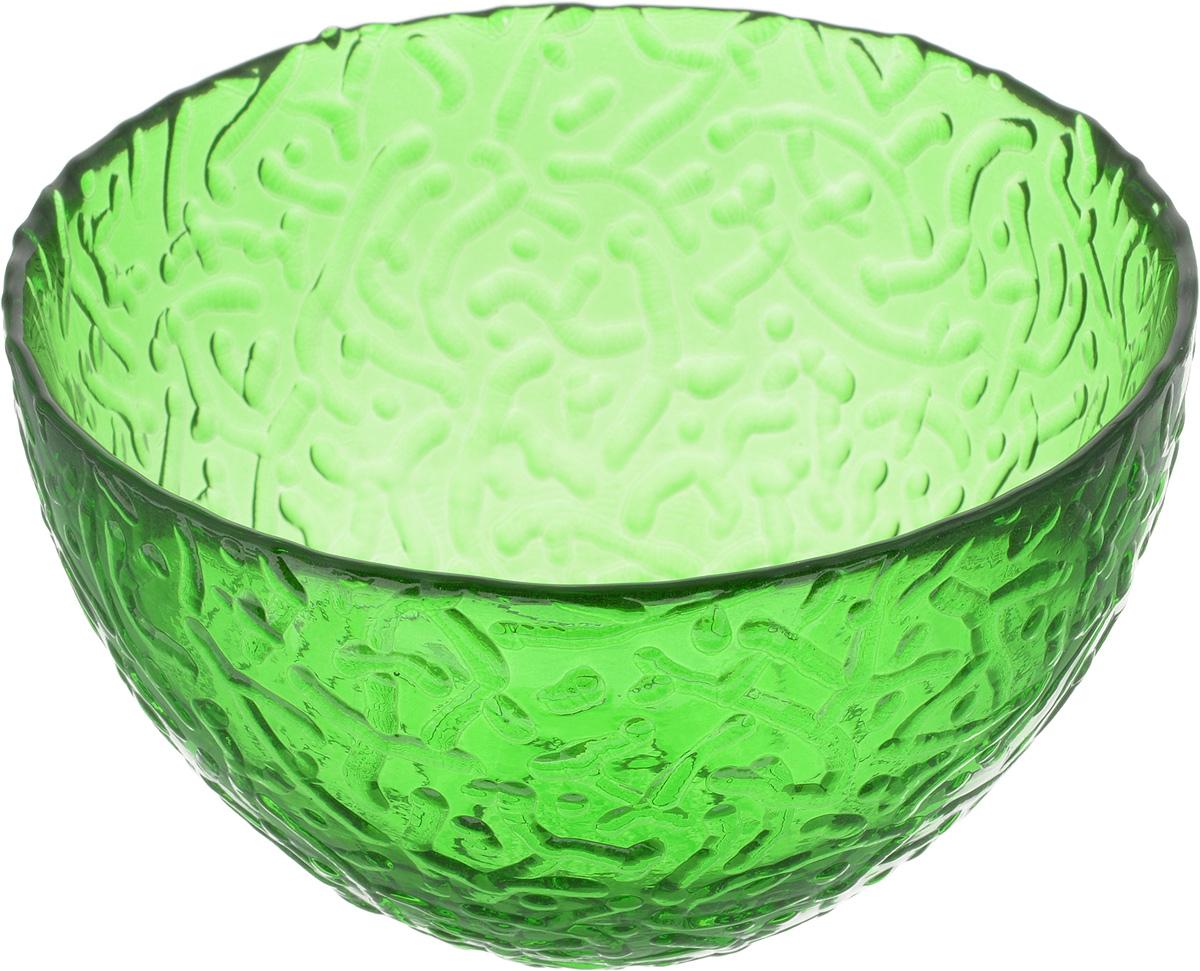 Салатник NiNaGlass Ажур, цвет: зеленый, диаметр 12 см54 009312Салатник Ninaglass Ажур выполнен из высококачественного стекла и имеет рельефную внешнюю поверхность. Такой салатник украсит сервировку вашего стола и подчеркнет прекрасный вкус хозяйки, а также станет отличным подарком.Диаметр салатника (по верхнему краю): 12 см. Высота салатника: 7,5 см.