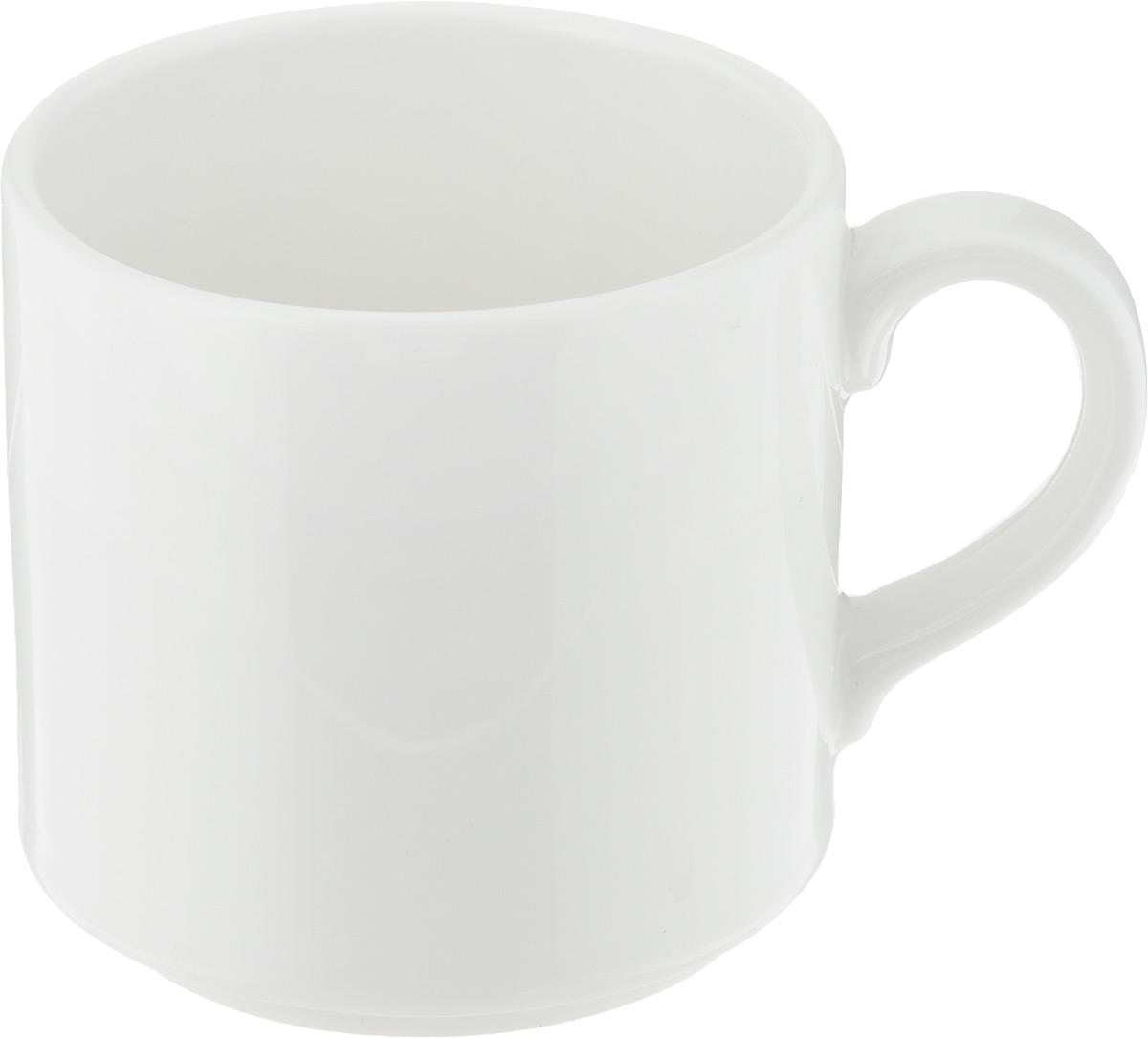 Чашка чайная Ariane Прайм, 200 мл54 009312Чашка Ariane Прайм выполнена из высококачественного фарфора с глазурованным покрытием. Изделие оснащено удобной ручкой. Изысканная чашка прекрасно оформит стол к чаепитию и станет его неизменным атрибутом. Можно мыть в посудомоечной машине и использовать в СВЧ.Диаметр чашки (по верхнему краю): 7,5 см.Высота чашки: 7 см.
