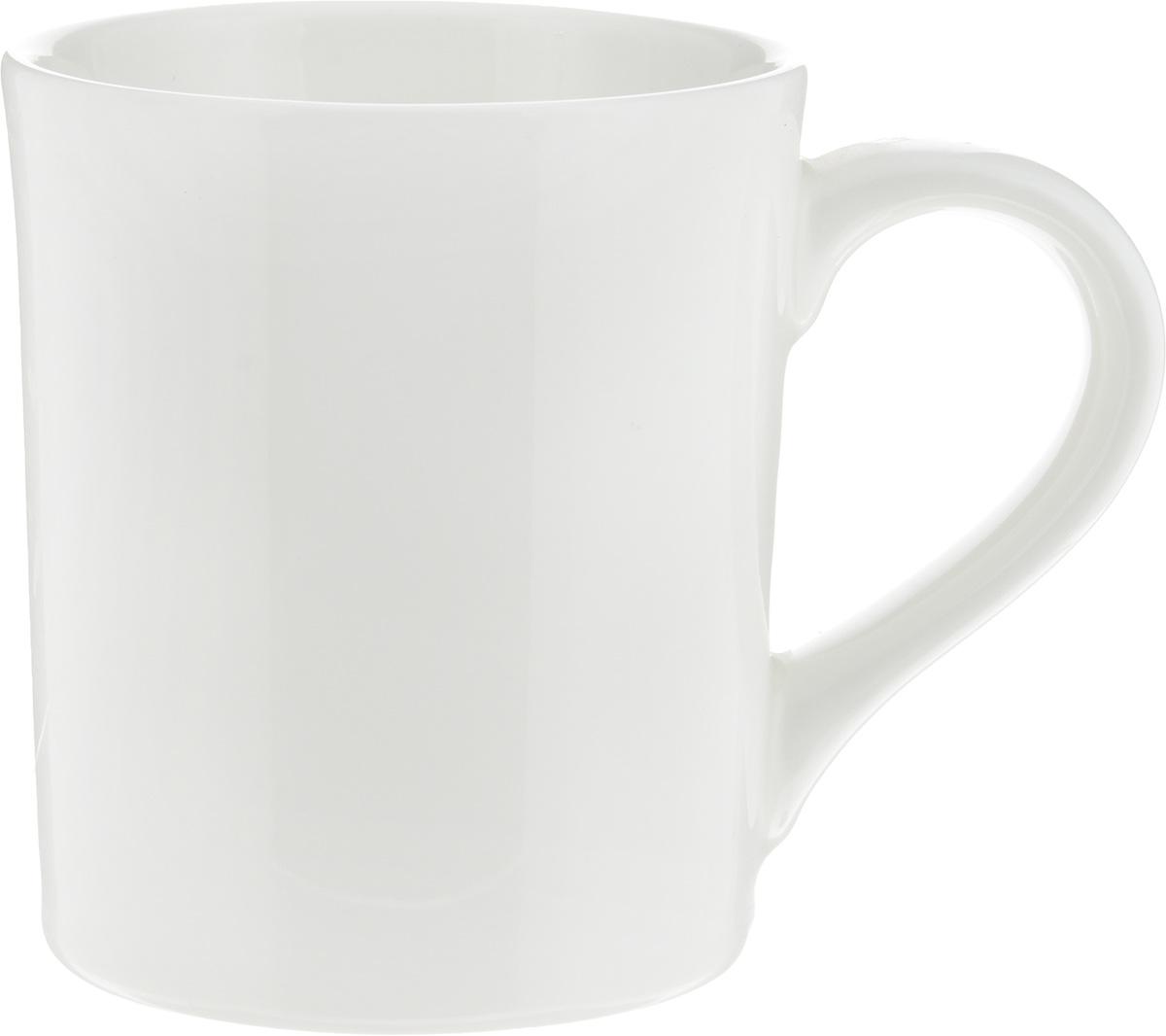 Кружка Ariane Прайм, 460 млAPRARN54046Кружка Ariane Прайм изготовлена из высококачественного фарфора с глазурованным покрытием. Такая кружка оригинально украсит стол, а пить чай или кофе станет еще приятнее.Можно мыть в посудомоечной машине и использовать в микроволновой печи.Диаметр кружки (по верхнему краю): 9 см. Высота салатника: 10,5 см.