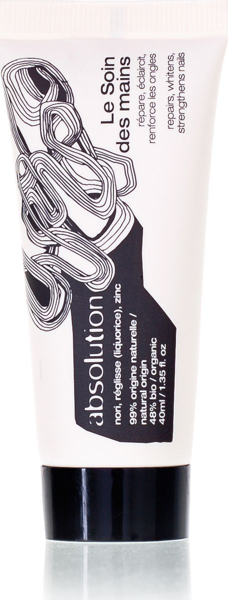 Absolution Крем для сухой кожи рук, 40 мл. ABS00195203069050701Крем для рук Absolution мгновенно впитывается в кожу, увлажняя и питая ее. Водоросль нори предотвращает появление пигментации и препятствует преждевременному фотостарению кожи. Корень солодки ингибирует тирозиназу (фермент, отвечающий за пигментацию). Цинк укрепляет ногти. Характеристики:Объем: 40 мл. Артикул: ABS0019. Производитель: Франция. Товар сертифицирован.
