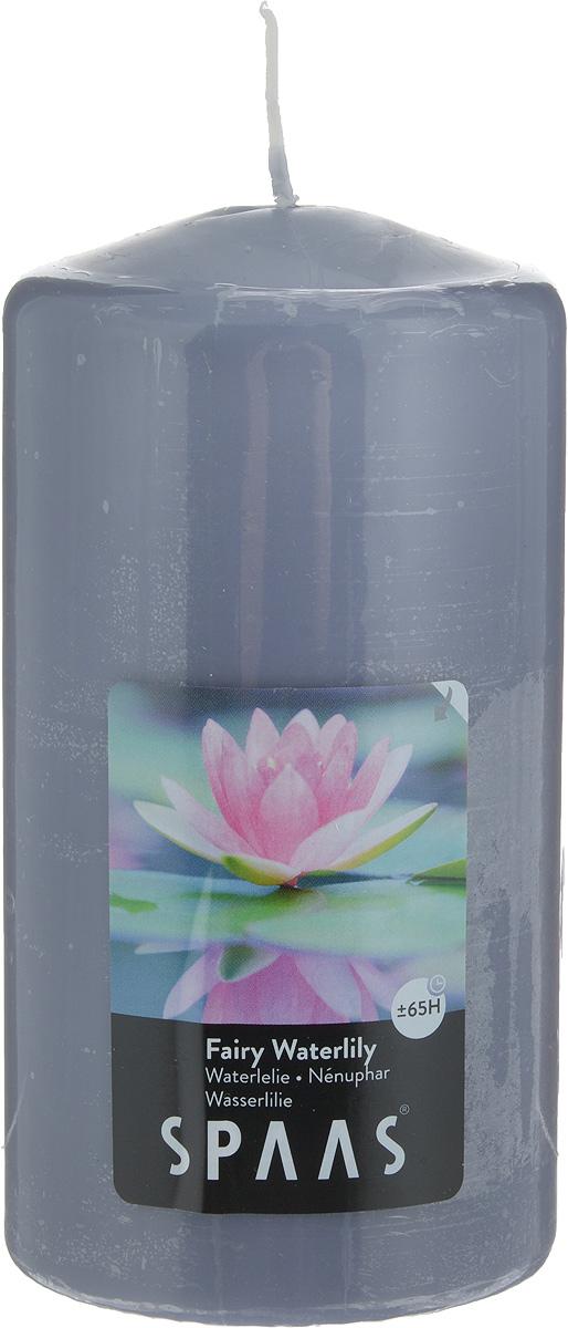 Свеча ароматизированная Spaas Волшебная кувшинка, высота 15 см2000000012940Ароматизированная свеча Spaas Волшебная кувшинка изготовлена из парафина и стеарина с добавлением натуральных красок и ароматизаторов, которые не выделяют вредные вещества при горении. Фитиль выполнен из натурального хлопка. Оригинальная свеча с тонким, нежным ароматом добавит романтики в ваш дом и создаст неповторимую атмосферу уюта, тепла и нежности. Такая свеча не только поможет дополнить интерьер вашей комнаты, но и станет отличным подарком. Время горения: 65 ч.
