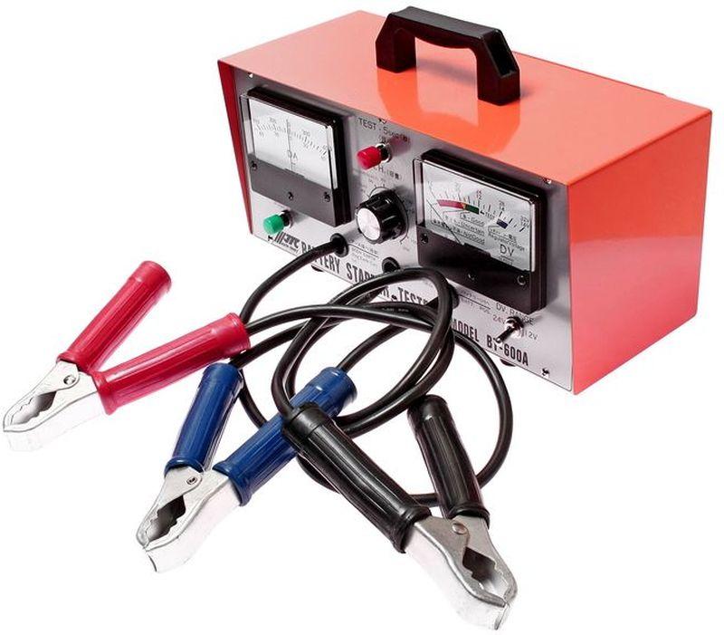 Тестер для АКБ JTC, многофункциональный, 12-24В. JTC-BT600AUCH-2U1QТестер для АКБ многофункциональный JTCХарактеристики Многофункциональный прибор, предназначенный для проверки состояния стартера, генератора и АКБ. Применяется для АКБ емкостью 18-200 А·ч напряжением 12В (24В). Габаритные размеры: 360/275/215 мм. (Д/Ш/В)Вес: 4902 г.