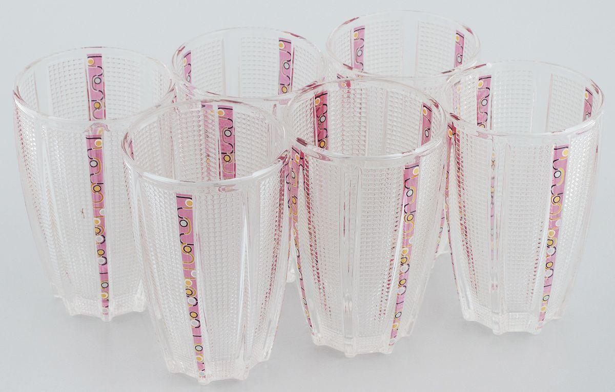 Набор стаканов Loraine, 300 мл, 6 шт. 24688VT-1520(SR)Набор стаканов Mayer & Boch Loraine состоит из шести стаканов, выполненных из прочного высококачественного стекла. Стаканы предназначены для подачи холодных напитков. Они отличаются особой легкостью и прочностью, излучают приятный блеск. Стаканы декорированы изящным рисунком. Благодаря такому набору пить напитки будет еще приятнее.Набор стаканов Mayer & Boch Loraine идеально подойдет для сервировки стола и станет отличным подарком к любому празднику.Объем стакана: 300 мл. Диаметр стакана по верхнему краю: 7 см. Высота стакана: 12 см. Комплектация: 6 шт.