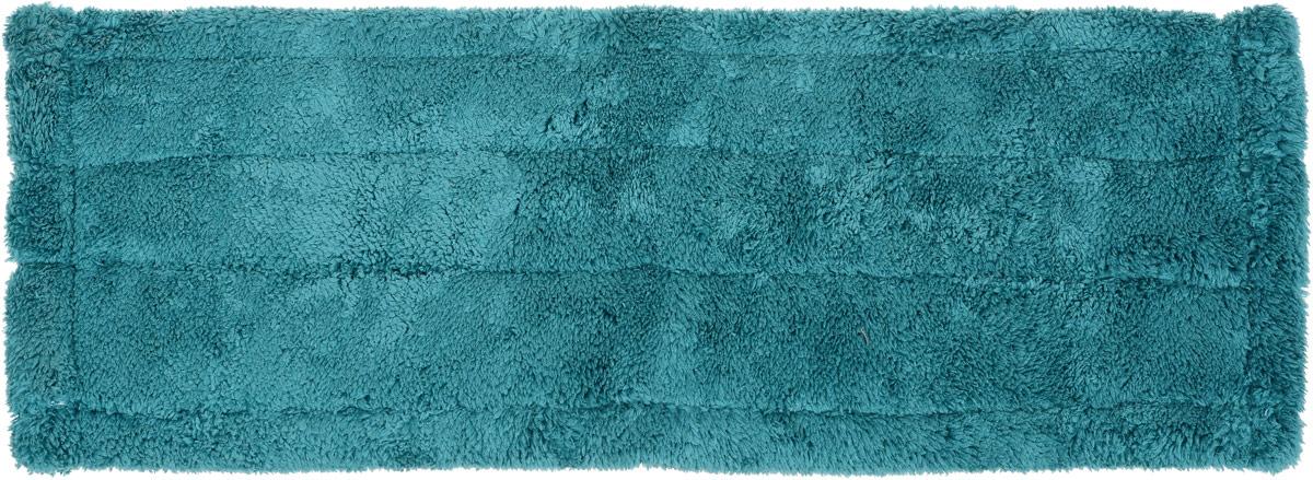 Насадка для швабры Youll love  Top Class, сменная, цвет бирюзовый, длина 40 см25050 0_зеленыйНасадка для швабры Youll love  Top Class изготовлена из микрофибры, обладающей уникальными абсорбирующими и очищающими свойствами. Насадка предназначена для сухой и влажной уборки помещений. Материал не царапает поверхности и отлично впитывает влагу. Насадка легко крепится, цепляясь войлочной изнаночной стороной к микрокрючкам на платформе швабры. Сменная насадка для швабры Youll love  Top Class станет незаменимой в хозяйстве. Размер насадки: 40 х 13,5 см.