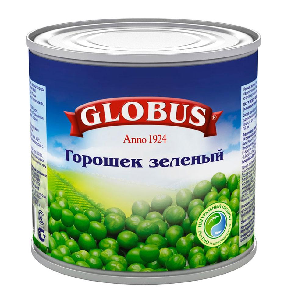 Globus зеленый горошек Нежный, 400 г