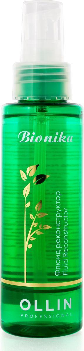 Ollin Флюид реконструктор BioNika Fluid Reconstructor 100 млCF5512F4Флюид реконструктор Ollin BioNika Fluid Reconstructor для интенсивного восстановления сухих, поврежденных волос на основе масла овса. Облегчает расчесывание, устраняет проблему секущихся кончиков волос. Не утяжеляет, придает волосам блеск и ухоженный вид. Масло овса - содержит природные антиоксиданты, защищает от УФ лучей, увлажняет.
