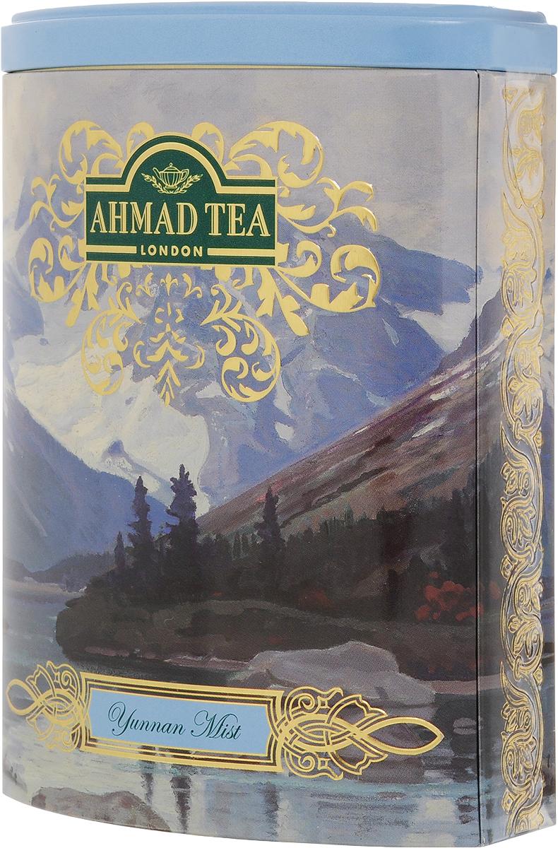 Ahmad Tea Yunnan Mist черный чай, 100 г (жестяная банка)0120710Ahmad Yunnan Mist происходящий из легендарной китайской провинции Юньнань, исторической родины чая, обладает уникальным пикантным вкусом, дымным ароматом и ярко-золотистым цветом настоя. Этот мистический китайский чай в совершенном исполнении Ahmad Tea создаст атмосферу покоя и уединенности.Заваривать 5-7 минут, температура воды 100°С.