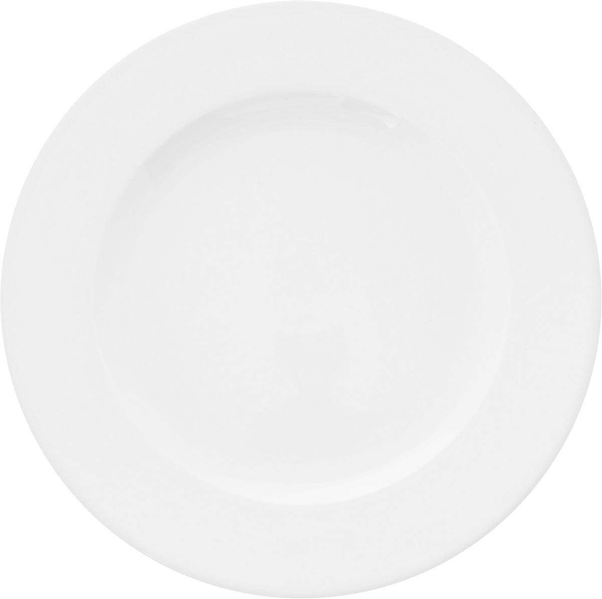 Тарелка Ariane Прайм, диаметр 24 см115510Оригинальная тарелка Ariane Прайм изготовлена из высококачественного фарфора с глазурованным покрытием. Изделие круглой формы идеально подходит для сервировки закусок и других блюд. Такая тарелка прекрасно впишется в интерьер вашей кухни и станет достойным дополнением к кухонному инвентарю. Можно мыть в посудомоечной машине и использовать в микроволновой печи. Диаметр тарелки (по верхнему краю): 24 см.