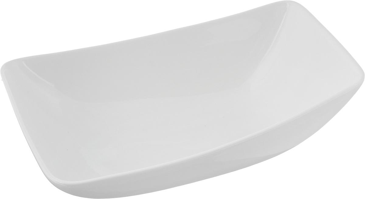 Салатник Ariane Rectangle, 1 лРАД00000471_светло-зеленый, коричневыйОригинальный салатник Ariane Rectangle, изготовленный из высококачественного фарфора,имеет оригинальную форму и приподнятый край. Такой салатник украсит сервировку вашего стола и подчеркнет прекрасный вкус хозяина, а такжестанет отличным подарком.Можно мыть в посудомоечной машине и использовать в микроволновой печи.Размер салатника (по верхнему краю): 24 х 16 см. Максимальная высота салатника: 7,5 см.