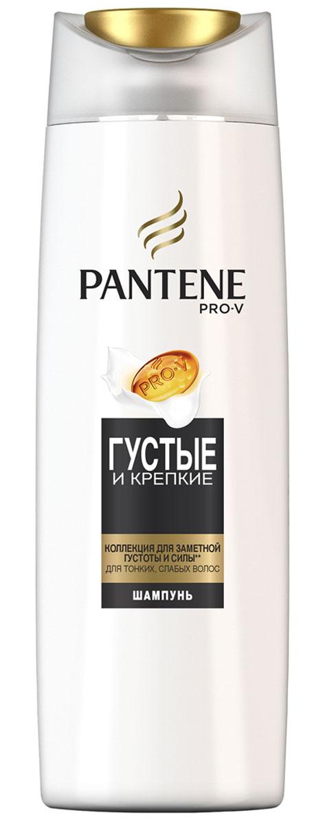 Pantene Pro-V Шампунь Густые и крепкие, 250 мл81601067Ухаживающая коллекция Pantene Pro-V Густые и крепкие включает активные вещества, действующие на микроуровне, которые придают объем и укрепляют защиту волос от повреждений при укладке. Для наилучших результатов используйте с бальзамом-ополаскивателем и средствами для ухода за волосами PantenePro-V Густые и крепкие.