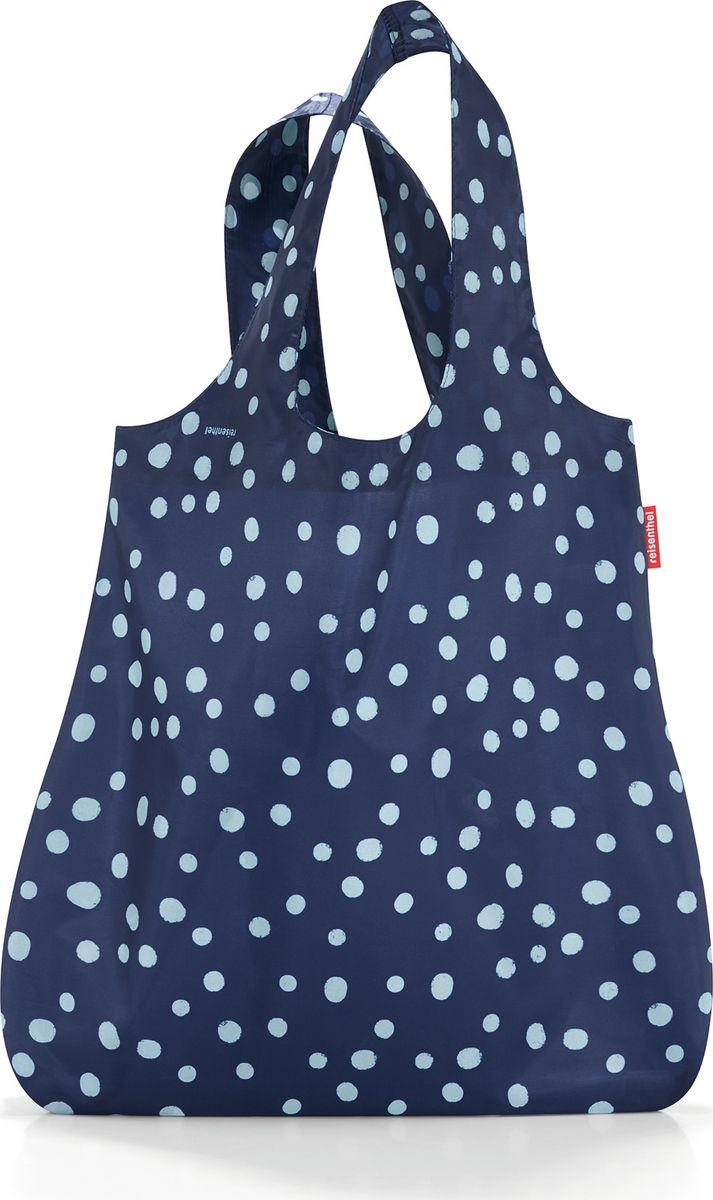 Сумка женская Reisenthel Mini Maxi Shopper, цвет: синий. AT40443-47660-00504Стильная и практичная сумка для покупок. Экологичная альтернатива одноразовым пакетам.- компактно сворачивается и фиксируется резинкой для удобства переноски;- размер в сложенном состоянии - всего 12 см х 6 см х 2 см;- удобные широкие ручки;- объем – 15 литров.