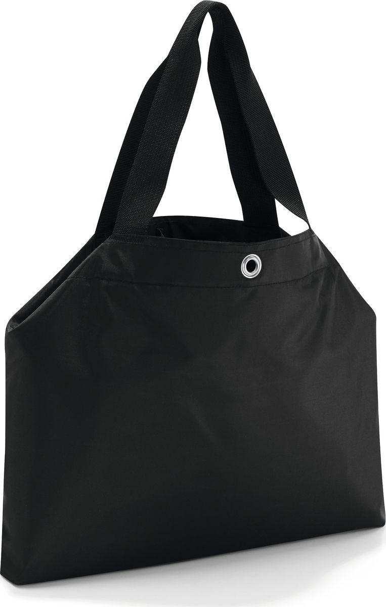 Сумка женская Reisenthel Changebag, цвет: черный. CH700310130-11Мечта о безлимитных покупках станет реальностью! Сумка Changebag за считанные секунды меняет свой размер, превращаясь из компактной дамской в прочную вместительную сумку для шопинга.- сумка закрывается на застежку тогл;- 2 регулируемых размера;- в сложенном состоянии - два отделения; в развернутом состоянии - одно основное;- два внутренних кармана на молнии и один для мобильного телефона;- уплотненное прочное дно; - водоотталкивающий полиэстер премиум класса;- объем: 15 литров, объем в развернутом состоянии: 35 литров;