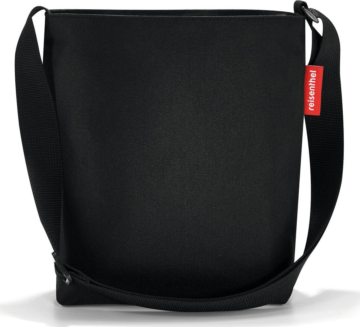 Сумка женская Reisenthel Shoulderbag S, цвет: черный. HY7003L39845800Простая, но очень вместительная сумка через плечо. Застегивается на молнию. Широкий удобный ремень регулируемой длины. Внутри - дополнительный карман на молнии.