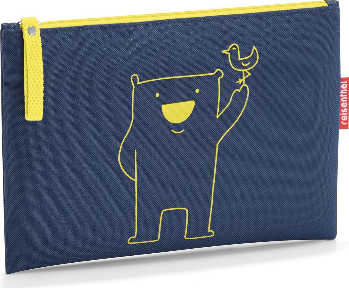Косметичка женская Reisenthel Case 1 Bear Navy, цвет: синий. LR4005SARMA норка С030-1Косметичка закрывается на молнию. Подкладка обеспечивает дополнительную прочность. Материал – высококачественный полиэстер. Отлично подойдет для повседневного использования.