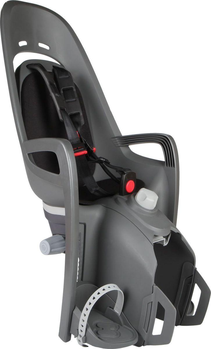 Детское велокресло Hamax Zenith Relax W/Carrier Adapter, цвет: серый, черныйMW-1462-01-SR серебристыйОтличительные особенности HAMAX ZENITH RELAX от Hamax ZENITH это наличие регулировки угла наклона кресла в 12,5 градусов.Дополнительные мягкие пряжки для фиксации ребенка в кресле очень легкие и комфортные, но при этом обеспечивают надежную фиксацию ребенка в велокресле, позволяя при необходимости совершать резкие маневры и торможения. Эргономика велокресла расчитанна так что спинка кресла не будет мешать голове ребенка в моменты когда он хочет откинуться назад кресла в шлеме.Механизмы регулировки застежек позволяют комфортно отрегулировать их вместе с ростом ребенка.Все детские велосиденья Hamax растут вместе с ребенком! Регулируються и ремень безопасности и подножки.Переставляйте детское сиденье для велосипеда между двумя велосипедамиДетское сиденье для велосипеда очень легко крепится и освобождается от велосипеда. Приобретая дополнительный кронштейн, вы можете легко переставлять детское сиденьес одного велосипеда на другой.Особенности модели:Наличие регулировки угла наклона велокресла в 12,5 градусов Проработанная эргономика кресла для максимально комфортной посадки.3-точечные ремни безопасности с дополнительным кронштейном для фиксации в районе груди,и обеспечения ребенку безопасной и удобной посадки.Специальная конструкция пряжек ремней безопасности/фиксации для предотвращения саморастегвания ребенка.Простое в использование, полностью соответствующее всем Европейским стандартам безопасности.Возможность установить на любом велосипеде как с багажником, так и без.Предназначенно для детей в возрасте старше 9 месяцев и весом до 22 кг.Регулируемый ремень безопасности и подножки.Регулировка подножек одной рукойМягкие плечевые пряжки ремнейДетское велосиденье благодаря удобному и надежному замку фиксации легко ставиться и снимаеться с велосипеда.Несущие дуги крепления велокресла обеспечивает отличную амортизацию.Подходит для подседельных труб рамы велосипеда диаметром о