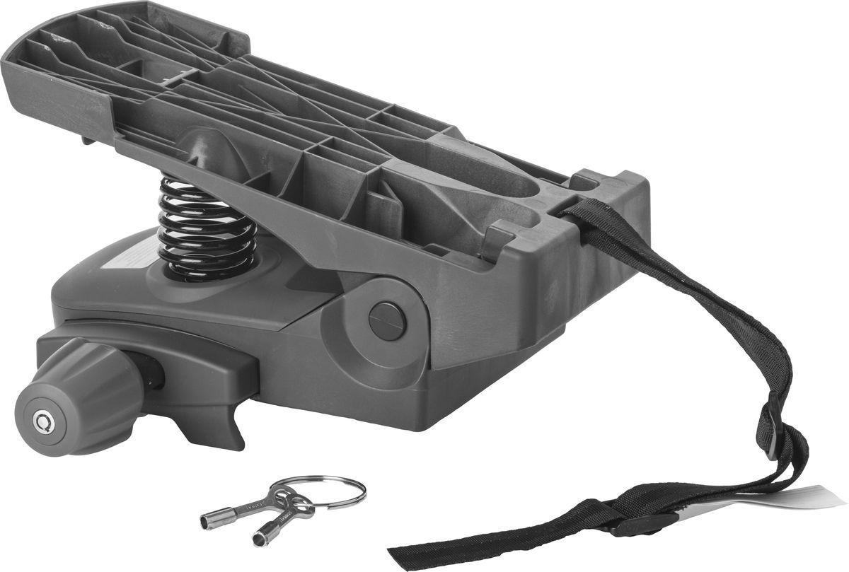 Адаптер для крепления детского велокресла Hamax Caress Carrier Adapter, на багажник, цвет: серыйMW-1462-01-SR серебристыйАдаптер для установки велокресла HAMAX на багажник велосипеда. Выдерживает нагрузку до 30 кг. Подходит для крепления на трубы диаметром от 10 до 20 мм.