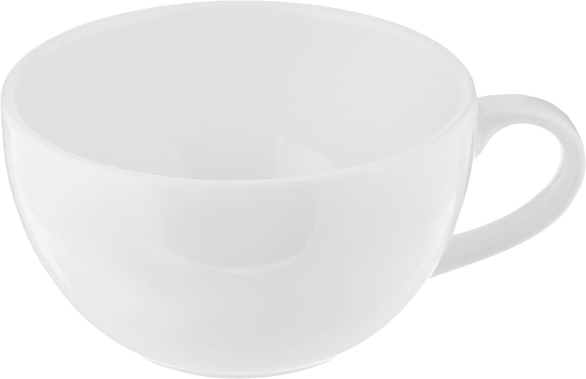 Чашка чайная Ariane Коуп, 280 мл391602Чайная чашка Ariane Коуп выполнена из высококачественного фарфора с глазурованным покрытием. Изделие оснащено удобной ручкой. Нежнейший дизайн и белоснежность изделия дарят ощущение легкости и безмятежности.Изысканная чашка прекрасно оформит стол к чаепитию и станет его неизменным атрибутом.Можно мыть в посудомоечной машине и использовать в СВЧ.Диаметр чашки (по верхнему краю): 10,5 см.Высота чашки: 6 см.