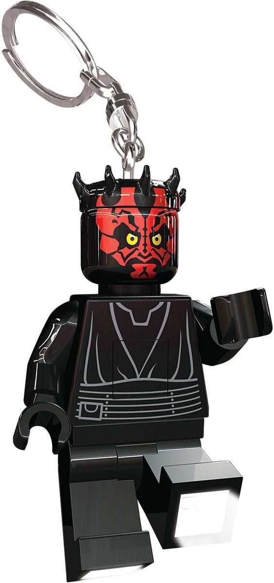 LEGO Star Wars Брелок-фонарик Darth Maul lego star wars брелок фонарик капитан фазма