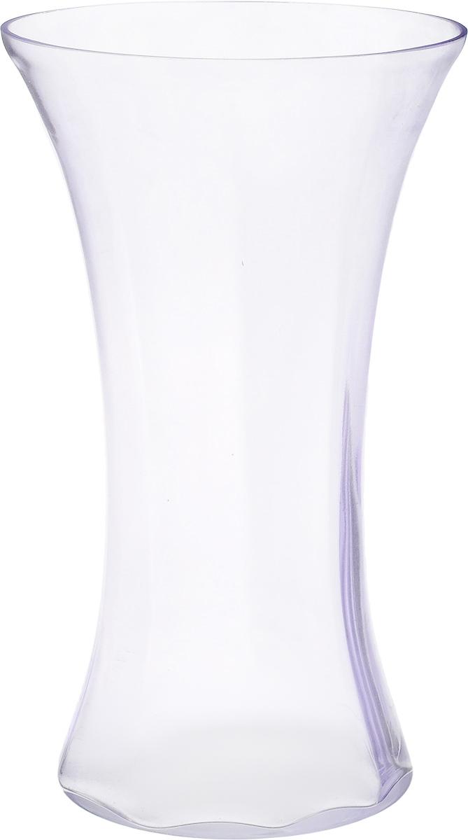 Ваза NiNaGlass Мадонна, цвет: лаванда, высота 35 смFS-80299Ваза NiNaGlass Мадонна выполнена из высококачественного стекла. Она станет ярким украшением интерьера и прекрасным подарком к любому случаю.Высота вазы: 35 см.Диаметр вазы (по верхнему краю): 21 см.Диаметр основания: 16 см.