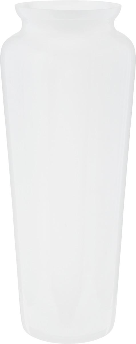 Ваза NiNaGlass Диана, цвет: белый, высота 38 смFS-80423Ваза NiNaGlass Диана, выполненная из высококачественного стекла, имеет изысканный внешний вид. Такая ваза станет ярким украшением интерьера и прекрасным подарком к любому случаю.Не рекомендуется мыть в посудомоечной машине.Высота вазы: 38 см.Диаметр вазы (по верхнему краю): 12 см.
