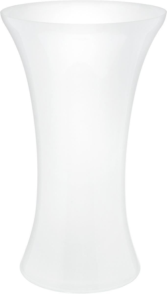 Ваза NiNaGlass Мадонна, цвет: белый, высота 35 см90-038_белыйВаза NiNaGlass Мадонна выполнена из высококачественного стекла. Она станет ярким украшением интерьера и прекрасным подарком к любому случаю.Высота вазы: 35 см.Диаметр вазы (по верхнему краю): 21 см.Диаметр основания: 16 см.