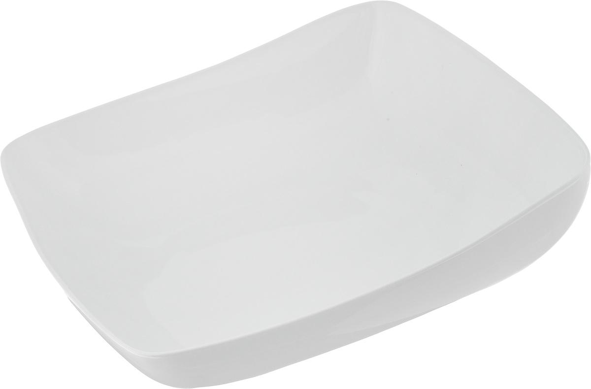 Салатник Ariane Vital Square, 3,5 л115510Салатник Ariane Vital Square, изготовленный из высококачественного фарфора с глазурованным покрытием, имеет приподнятый край и прекрасно подойдет для подачи различных блюд: закусок, салатов или фруктов. Такой салатник украсит ваш праздничный или обеденный стол.Можно мыть в посудомоечной машине и использовать в микроволновой печи.Размер салатника (по верхнему краю): 31 х 31 см.Максимальная высота салатника: 10,5 см.Объем салатника: 3,5 л.