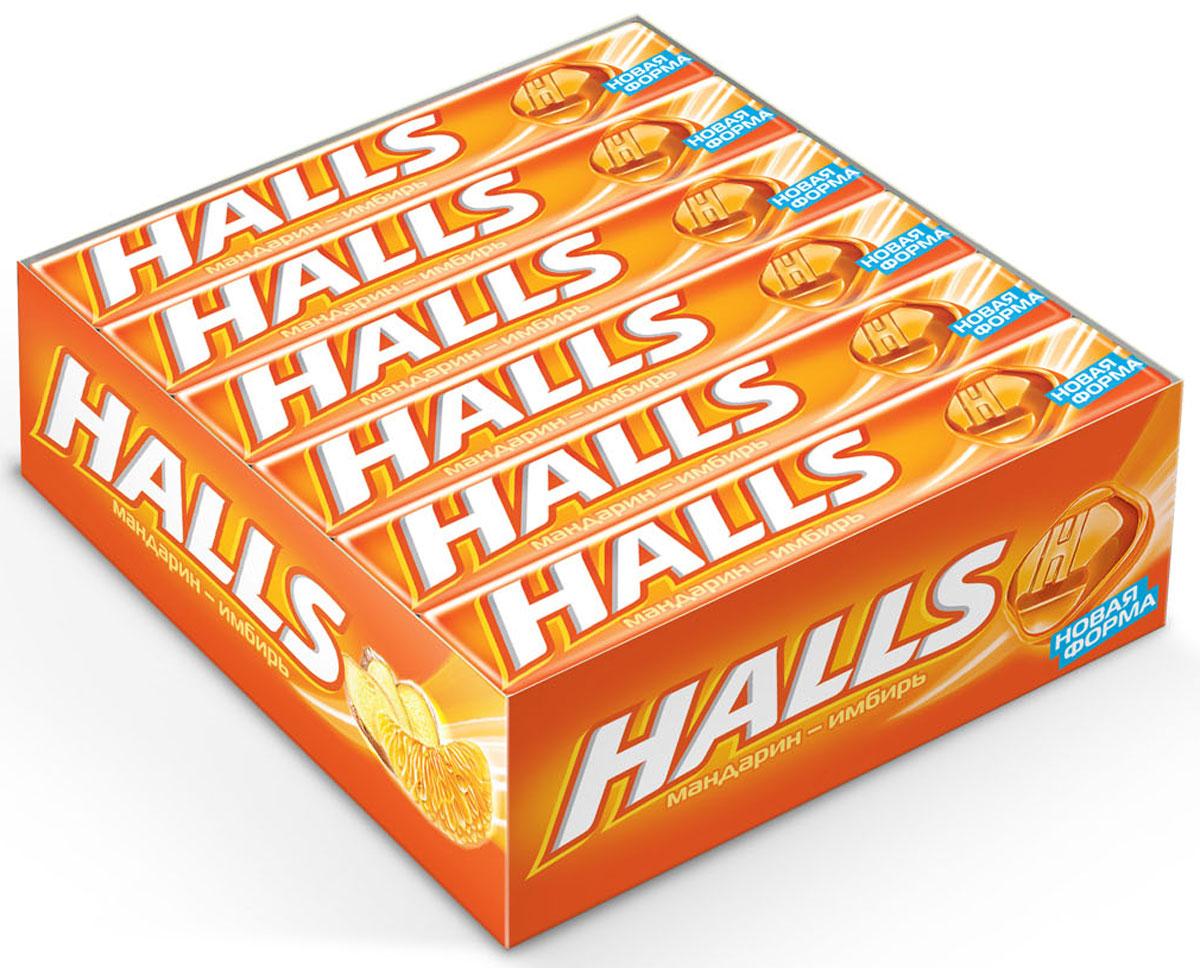Halls со вкусом мандарина и имбиря карамель леденцовая, 12 пачек по 25 г0120710В напряженные моменты, когда нужна эмоциональная встряска, когда одолевает усталость, когда просто нужно перевести дыхание – попробуйте Halls и дышите свободно.Он сродни глотку свежего воздуха в любой ситуации, когда это необходимо – бодрит, освежает и позволяет сосредоточиться на главном.