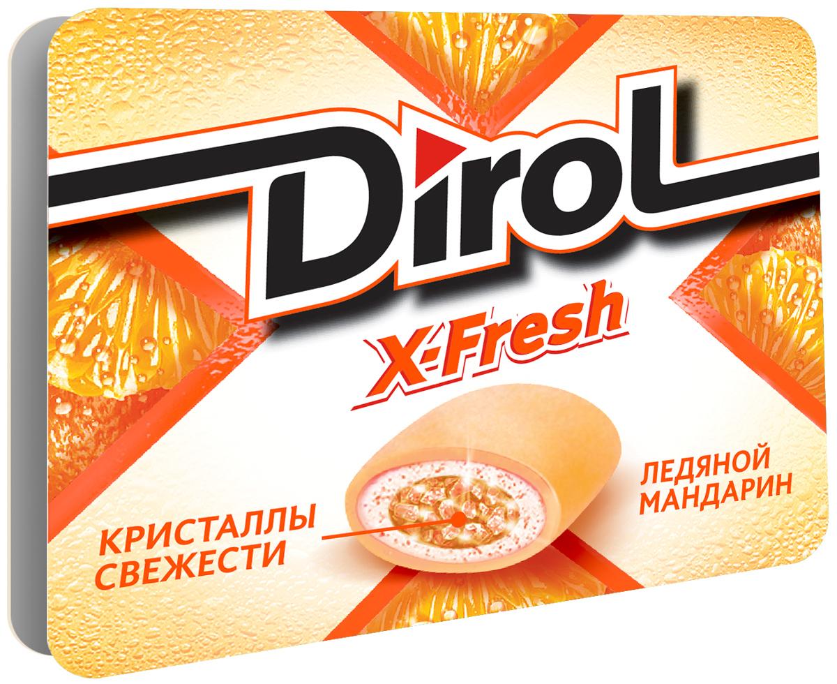 Dirol X-Fresh Ледяной мандарин жевательная резинка без сахара, 16 г0120710Dirol X-Fresh Ледяной мандарин - популярная жевательная резинка. Обладает ярко выраженным долгим вкусом.Общеизвестно, что древние греки использовали смолу мастичного дерева или пчелиный воск, чтобы освежить дыхание и очистить зубы от остатков еды. Племена Майя наслаждались жеванием каучука. На севере Америки индейцы наслаждались подобием жевательной резинки - смолы хвойных деревьев, предварительно выпаренной на костре. В Сибири пользовалась популярностью сибирская смолка, с ее помощью чистили зубы и укрепляли десны. В Европе зарождение жевательной культуры обозначено в 16 веке благодаря завезенному из Вест-Индии табаку. Затем жвачка появилась в Соединенных Штатах. Вплоть до 19 века попытки внедрить воск, парафин вместо жевательного табака терпели крах.Уважаемые клиенты! Обращаем ваше внимание, что полный перечень состава продукта представлен на дополнительном изображении.