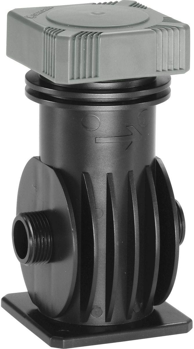Фильтр центральный Gardena, резьба 3/4106-026Центральный фильтр Gardena устанавливается на магистральной линии системы дождевания Gardena или трубопровода Gardena и обеспечивает надежную и безопасную фильтрацию проходящей воды. Возможна надземная или подземная установка фильтра. Съемная конструкция гарантирует легкость очистки. Центральный фильтр Gardena также может использоваться в сочетании с насосами и другими устройствами для полива. Соединение осуществляется при помощи резьбы 3/4.