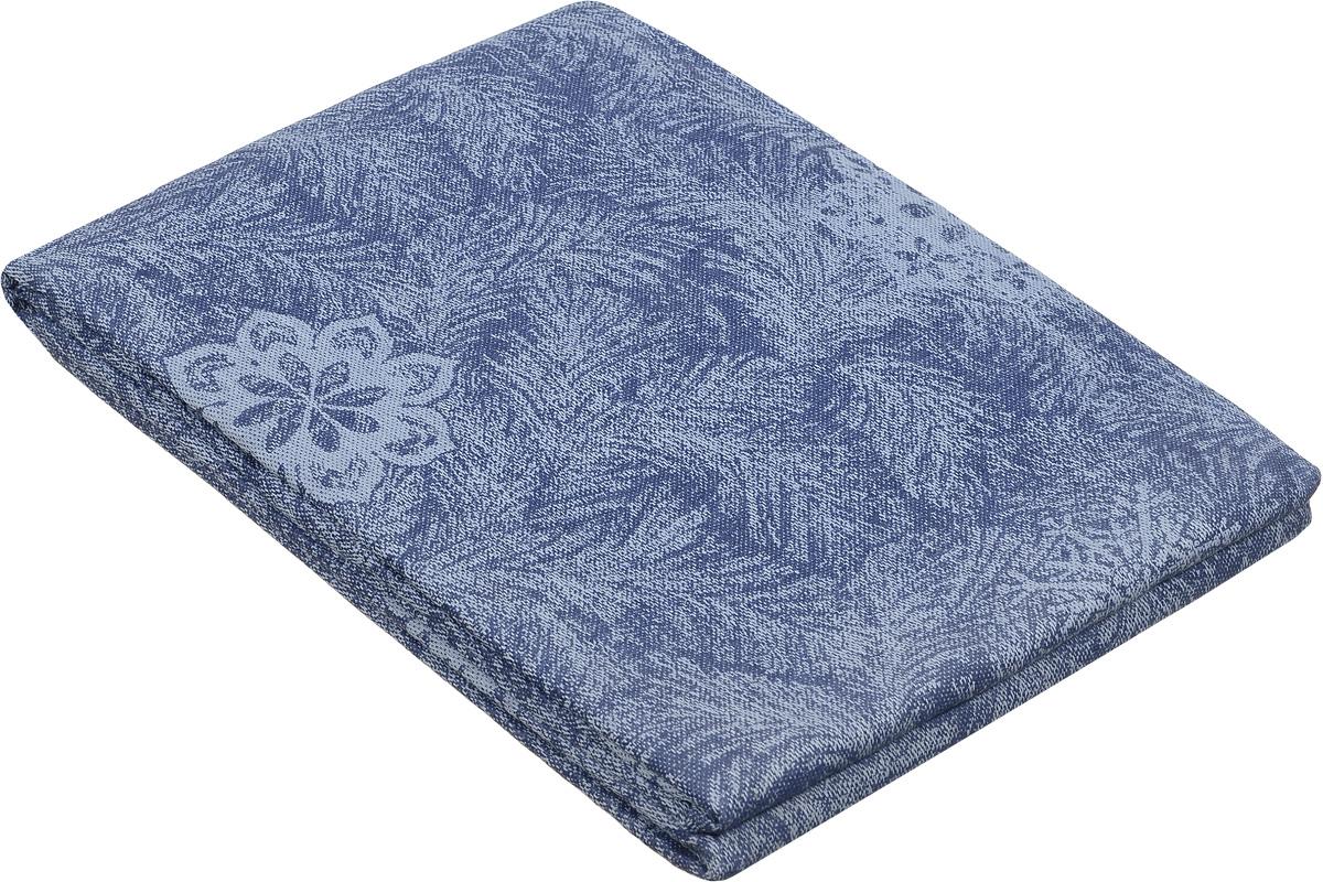 Скатерть Гаврилов-Ямский Лен, прямоугольная, цвет: синий, голубой, 178 х 220 см1со4834_серо-синийПестротканая жаккардовая скатерть Гаврилов-Ямский Лен, изготовленная изо льна и хлопка, станет отличным украшением интерьера столовой или кухни и придаст изысканный вид столу. Скатерть оформлена красивым узором, обладает плотной текстурой, высокой износостойкостью и прочностью.Лен - поистине уникальный природный материал, который отличается высокой экологичностью. Скатерти из натурального льна придадут вашему дому уют и тепло натурального материала. История льна восходит к Древнему Египту: в те времена одежда изо льна считалась достойной фараонов! На Руси лен возделывали с незапамятных времен - изделия из льняной ткани считались показателем достатка, а льняная одежда служила символом невинности и нравственной чистоты