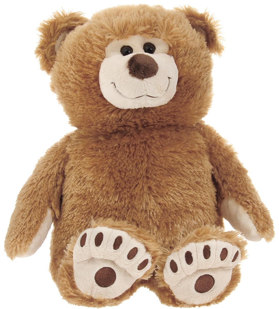 Plush Apple Мягкая игрушка Медведь Аркаша 45 см цвет коричневый plush apple 27
