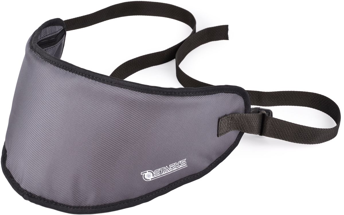 Сумка для визора Starks Visor Bag, цвет: серый10931-1Сумка Starks Visor Bag предназначена для безопасной перевозки запасного стекла/визора для шлема.Внутренняя часть убережет от потертостей и царапин во время эксплуатации.Внутренний ворс, обеспечит дополнительную полировку поверхности стекла. Удобно располагается подмышкой, не причиняет дискомфорт.Безопасно от потери в дороге.Прочная ткань защити от летящих камешков и песка в дороге.