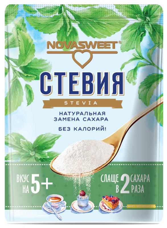 Novasweet стевия столовый подсластитель, 200 г0120710Подходит для ежедневного применения в рационах питания, направленных на снижение потребления сахара.