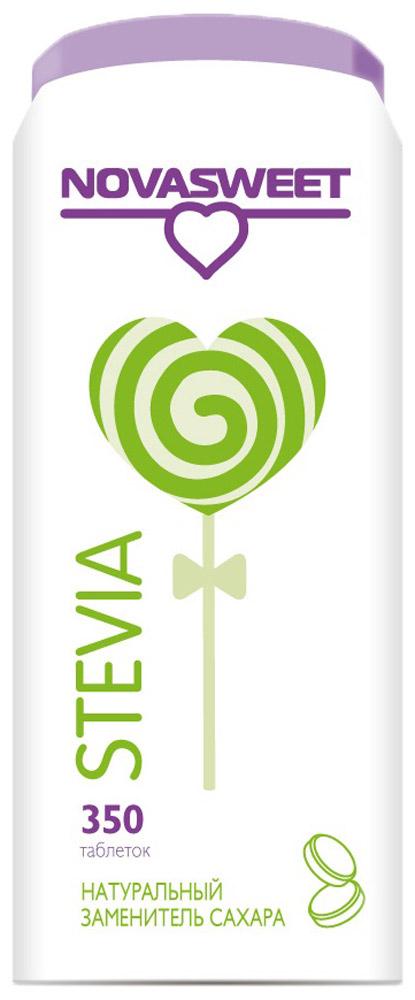 Novasweet стевия столовый подсластитель в таблетках, 350 шт0120710Заменитель сахара STEVIA используется для подслащивания низкокалорийных напитков и блюд. - 100% НАТУРАЛЬНАЯ СТЕВИЯ - Натуральный заменитель сахара класса премиум - Без калорий - Самый популярный сахарозаменитель - 1 таблетка соответствует по сладости 1 чайной ложке сахара - Разрешено Роспотребназором для реализации и использования - Не содержит сахарина и цикламатов - Не содержит ГМО - Рекомендован для диетического и диабетического питания