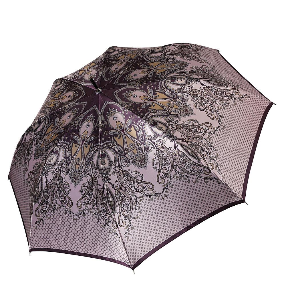Зонт женский Fabretti, цвет: мультиколор. 1711REM12-BLACKЖенский зонт-трость от итальянского бренда Fabretti выполнен из стали и фибергласса, поэтому модель устойчива к сильному ветру. Женственный нежно-розовый цвет и роскошный принт в стиле барокко подчеркту вашу утонченность и сделают вас неотразимой в любую непогоду. Дизайнерский принт в виде изящного кружевного рисунка дополнит любой современный образ! Материал купола – сатин. Он невероятно изящен, приятен на ощупь, обладает высокой прочностью, а также устойчив к выцветанию. Эргономичная ручка сделана из высококачественного пластика-полиуретана с противоскользящей обработкой!