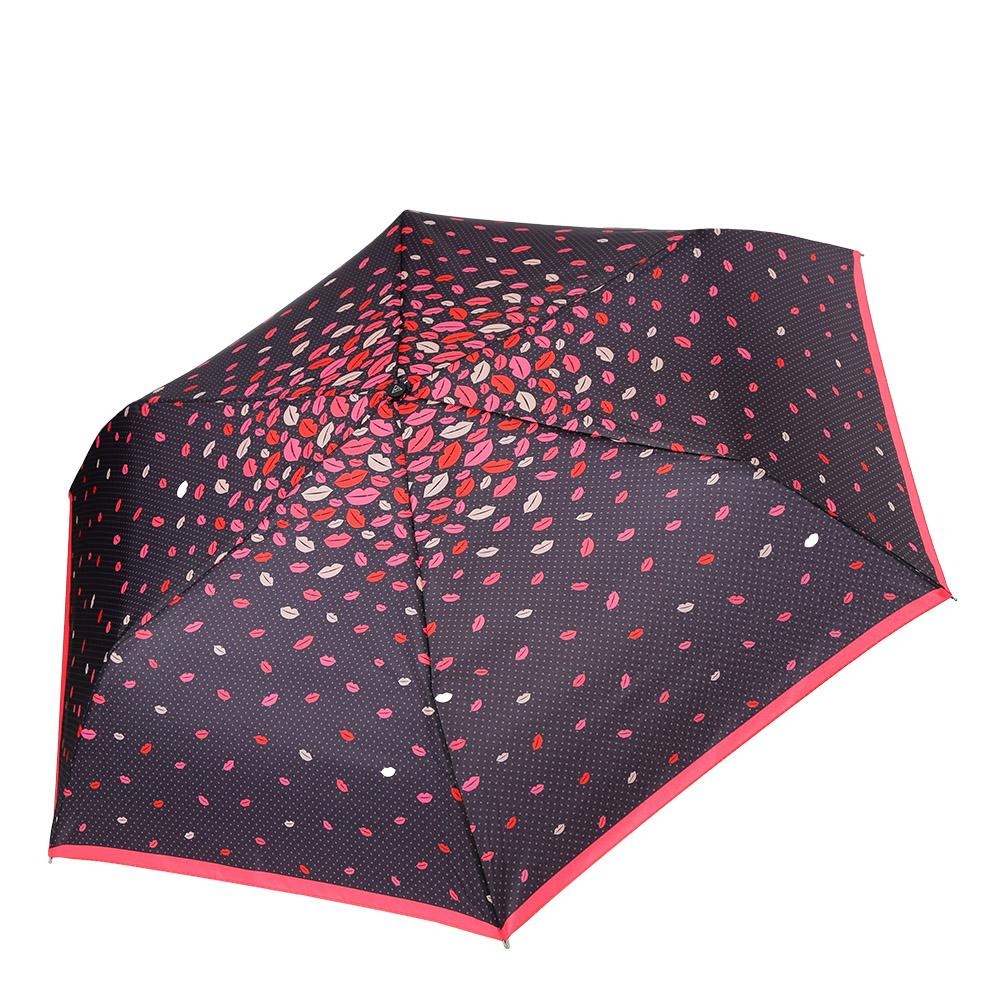Зонт женский Fabretti, механика, 3 сложения, цвет: черный, красный. MX-17100-5Серьги с подвескамиМиниатюрный женский зонт от итальянского бренда Fabretti очень легок и компактен, поэтому без труда поместится в любую женскую сумочку. Классическая черный цвет и романтический разноцветный принт придадут вашему образу нотки загадочности и женственности. Материал купола - полиэстер, обладает высокой прочностью и износостойкостью. Вода на куполе из такого материала скатывается каплями вниз, а не впитывается, на нем практически не видны следы изгибов. Эргономичная ручка сделана из высококачественного пластика-полиуретана с противоскользящей обработкой.